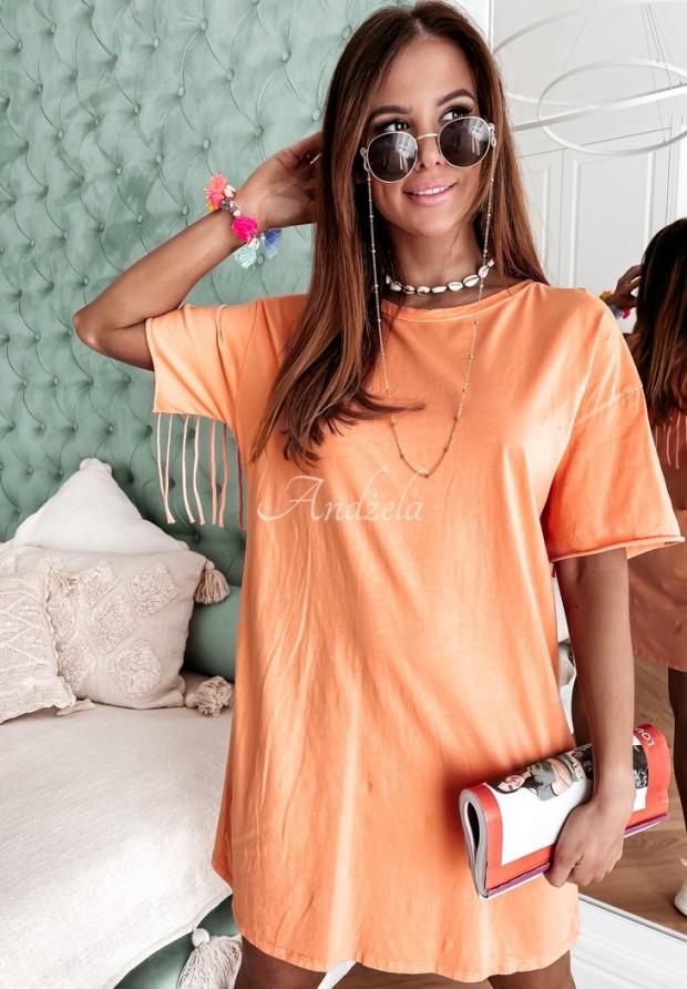 Sukienka Tunika Soler Orange
