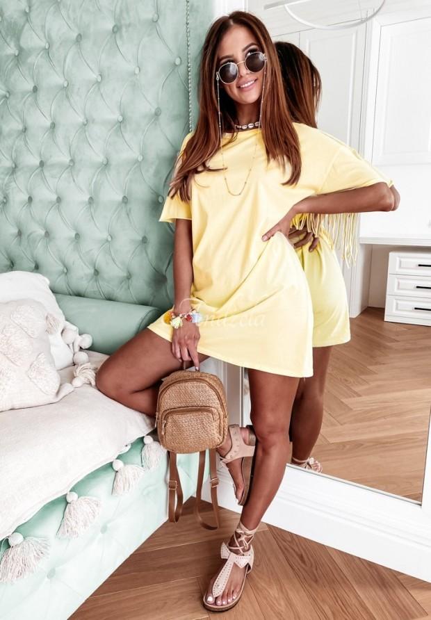 Sukienka Tunika Soler Yellow