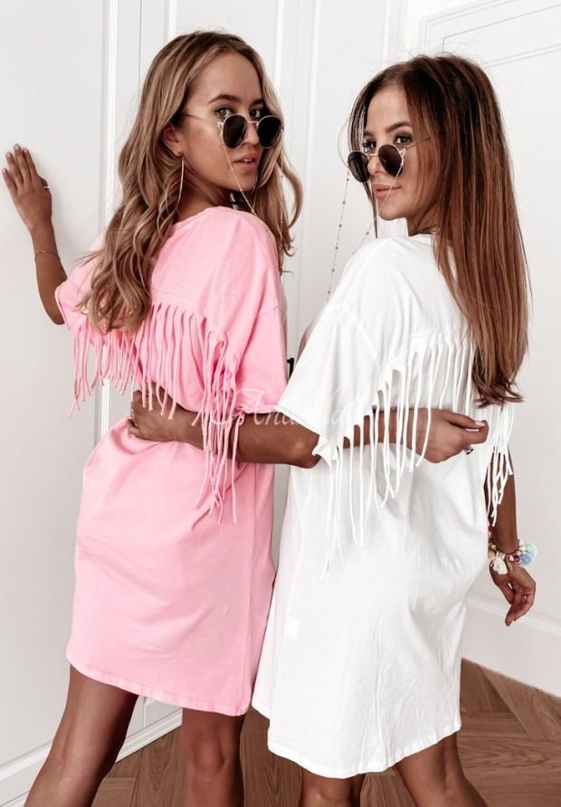 Sukienka Tunika Soler Pink