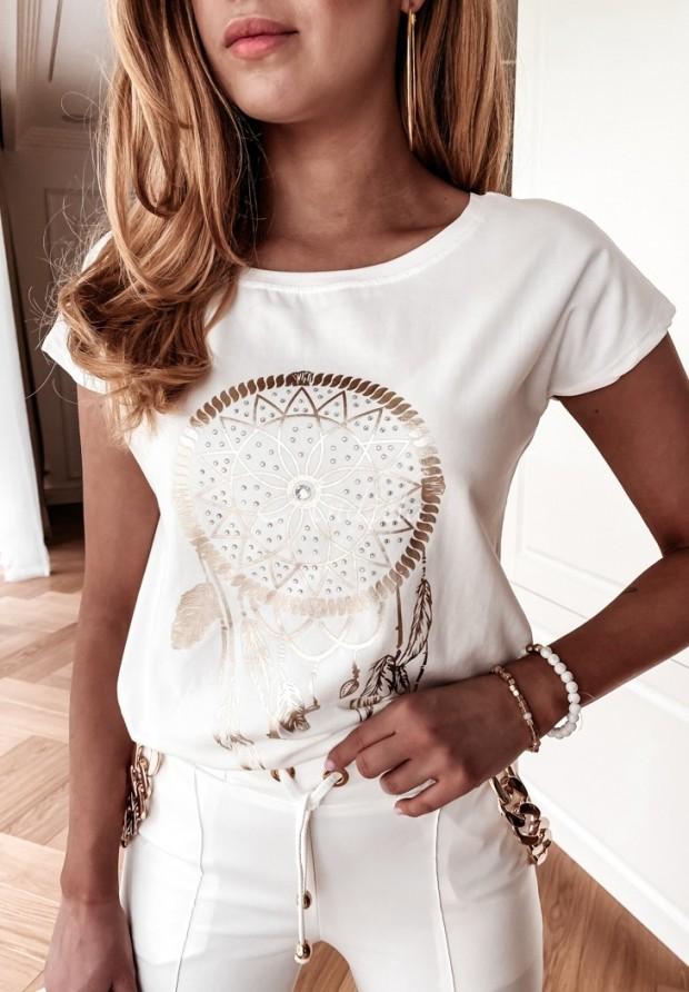 T-shirt Daphne White