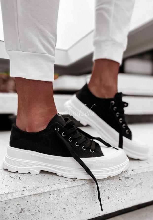 Trampki Trendy Short Black