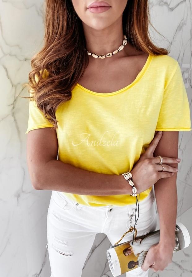 T-shirt Tees Yellow