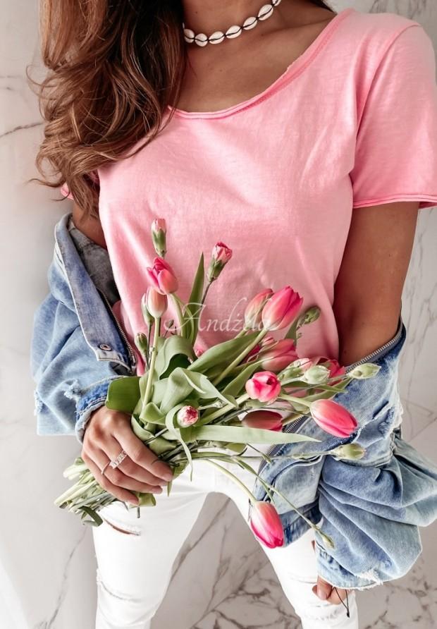 T-shirt Tees Pink