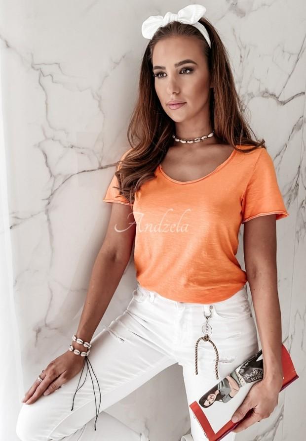T-shirt Tees Orange