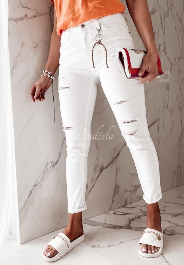 Spodnie Jeans Callina White