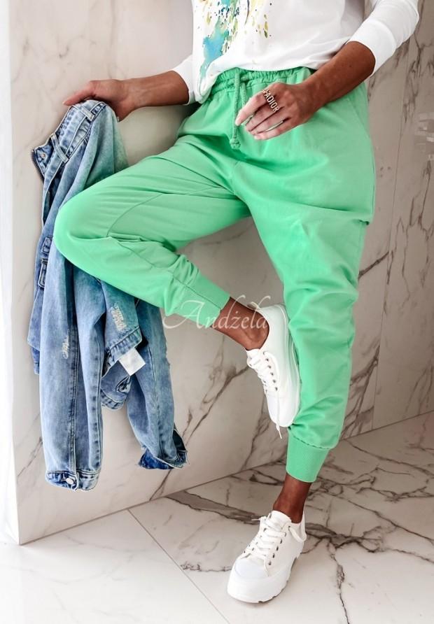Spodnie Dresowe Savoia Green