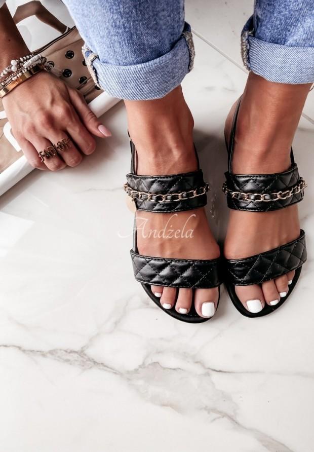 Sandałki Lyrra Black