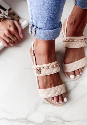 Sandałki Lyrra Beige
