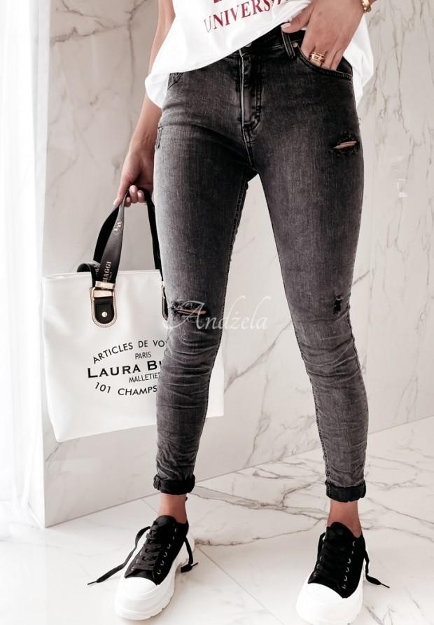 Spodnie Jeans Antalia Dark Grey