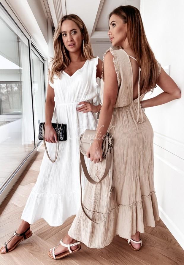 Sukienka Pavonia Beige