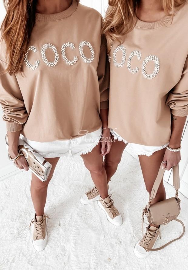 Bluza Coco Pearls Beige