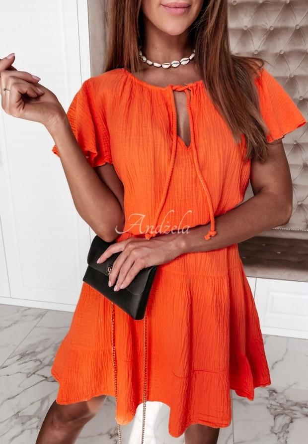 Sukienka Cassandra Orange