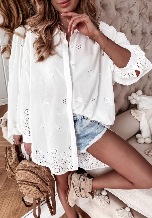 Koszula Tunika Boho Lacarta White