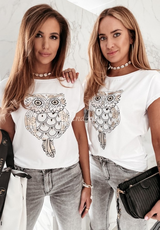 T-shirt Locca White