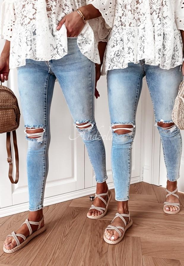 Spodnie Jeans Sallaro