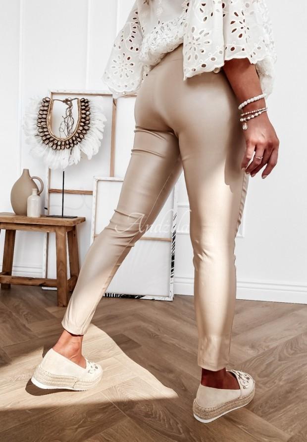 Spodnie Belemi Beige