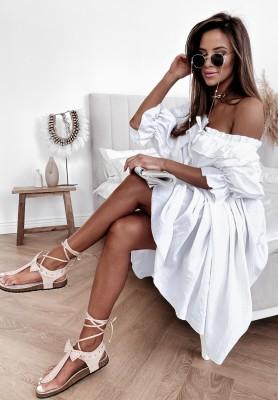 Bluzka Tunika Spanish White