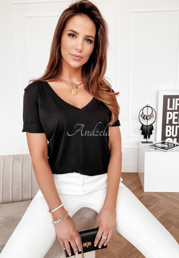 T-shirt Trokut Black