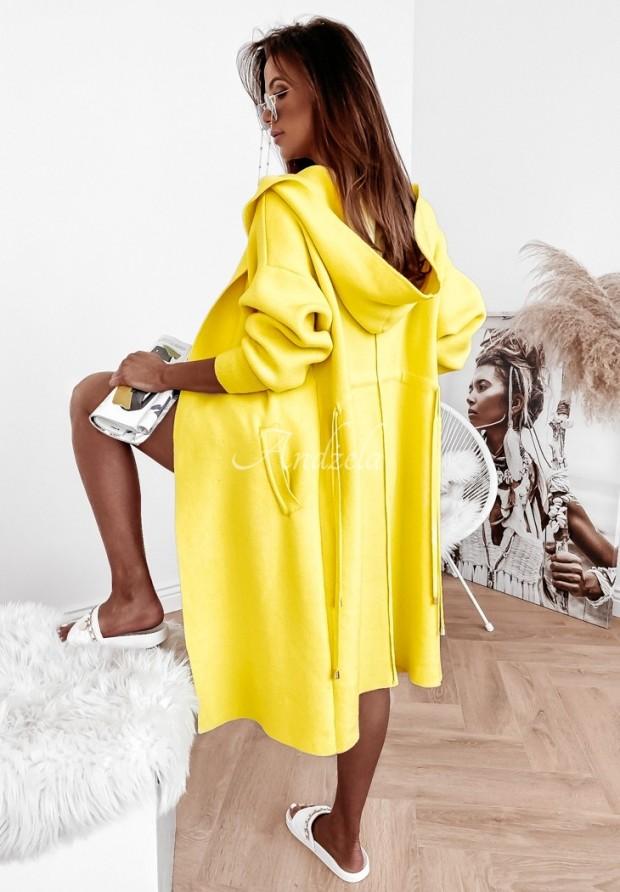 Sweter Kardigan Cocomore Santia Yellow