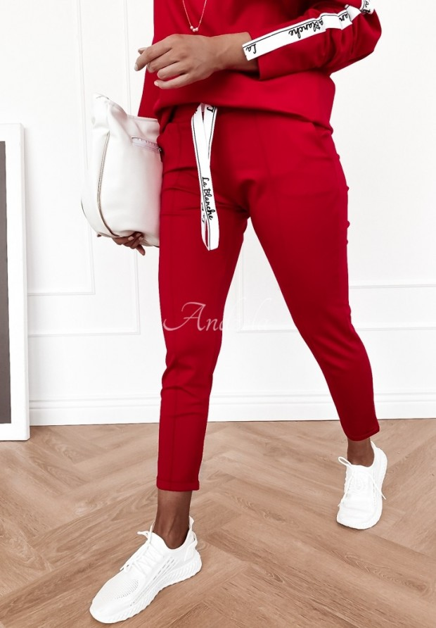 Spodnie Terry Red