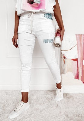 Spodnie Tori White