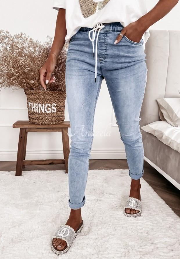 Spodnie Jeans Ficelle