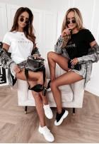 T-shirt La Manuel Gold&White