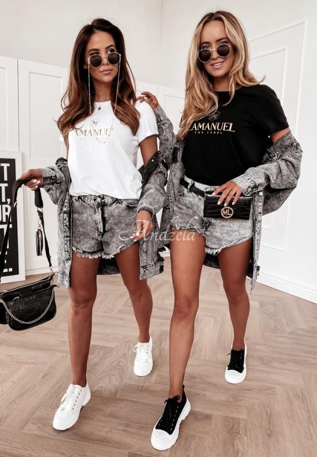 T-shirt La Manuel Gold&Black