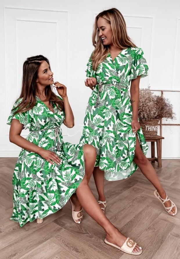 Sukienka Jungle Ecru