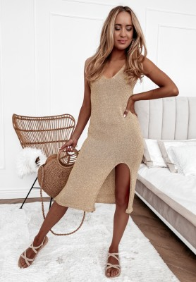 Sukienka Galia Gold