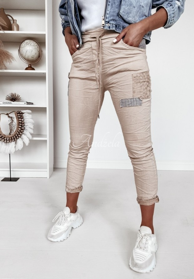 Spodnie Tori Beige