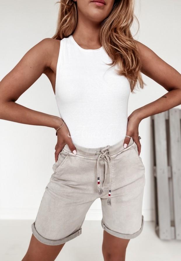 Spodenki Jeans Orlaya Grey