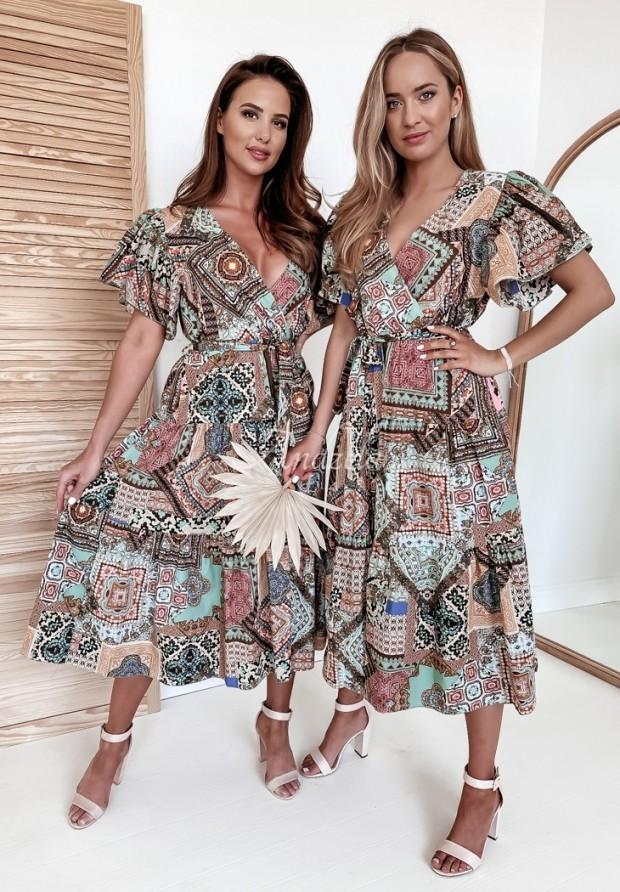Sukienka Jennifer Brown&Turquoise