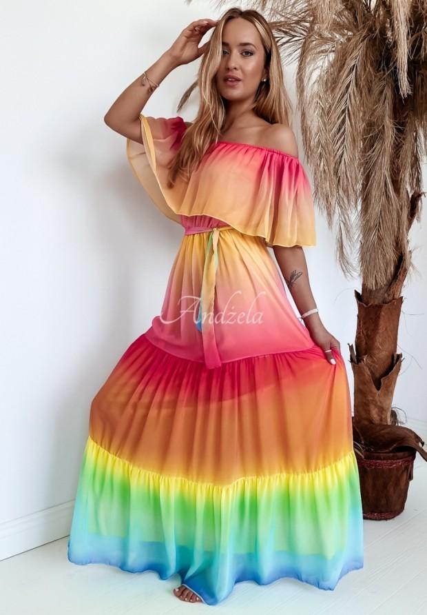 Sukienka Hiszpanka Kimberly Rainbow