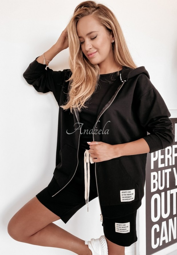 Bluza Sporty Chic Black