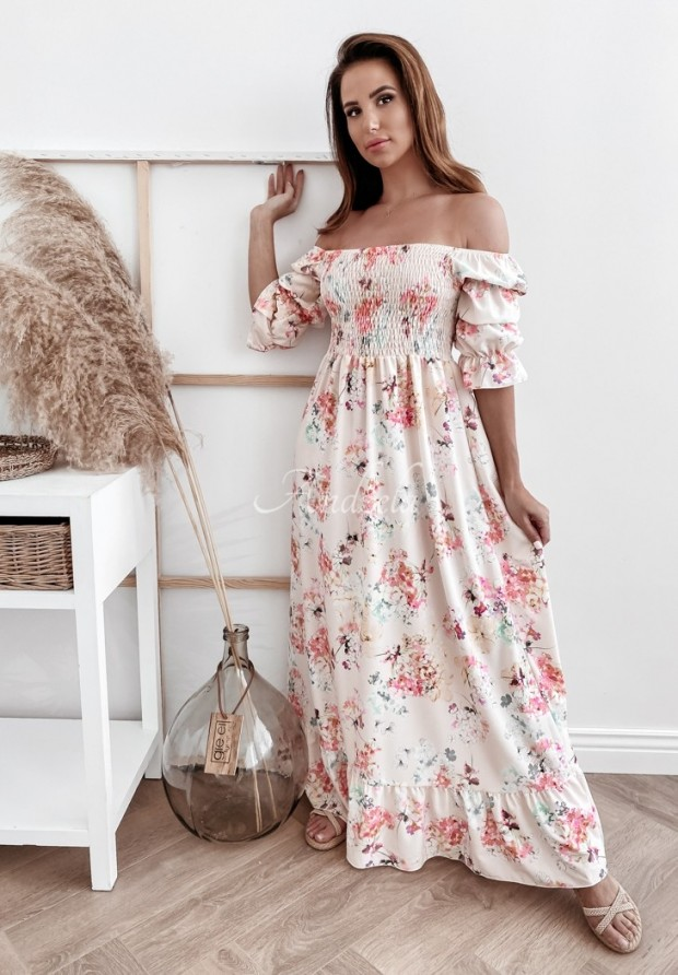 Sukienka Hiszpanka Camellia Light Peach