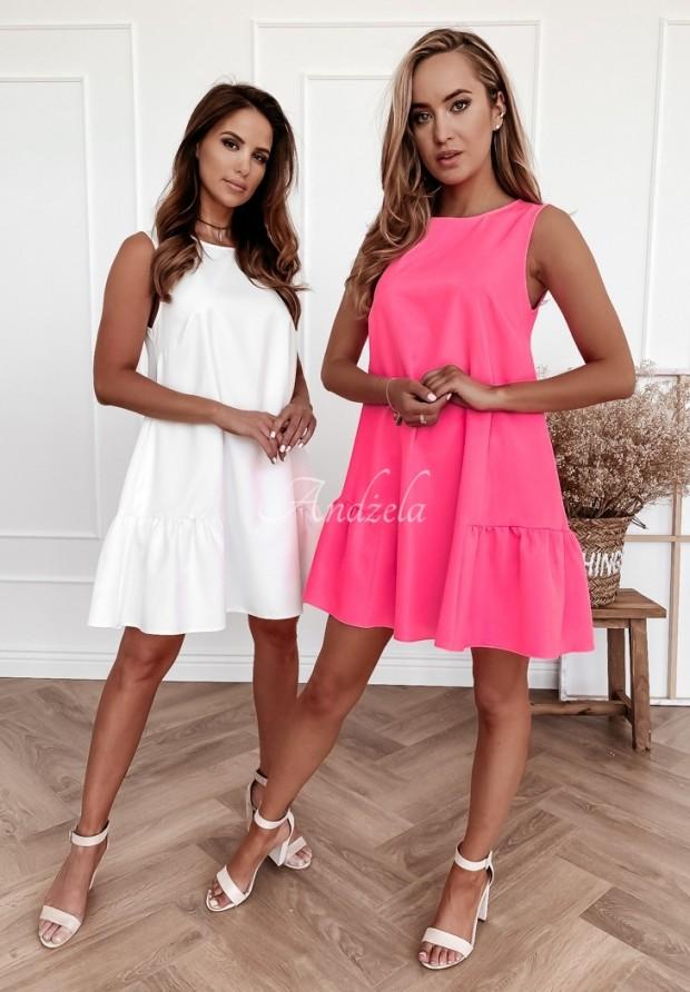 Sukienka Vicky Neon Pink
