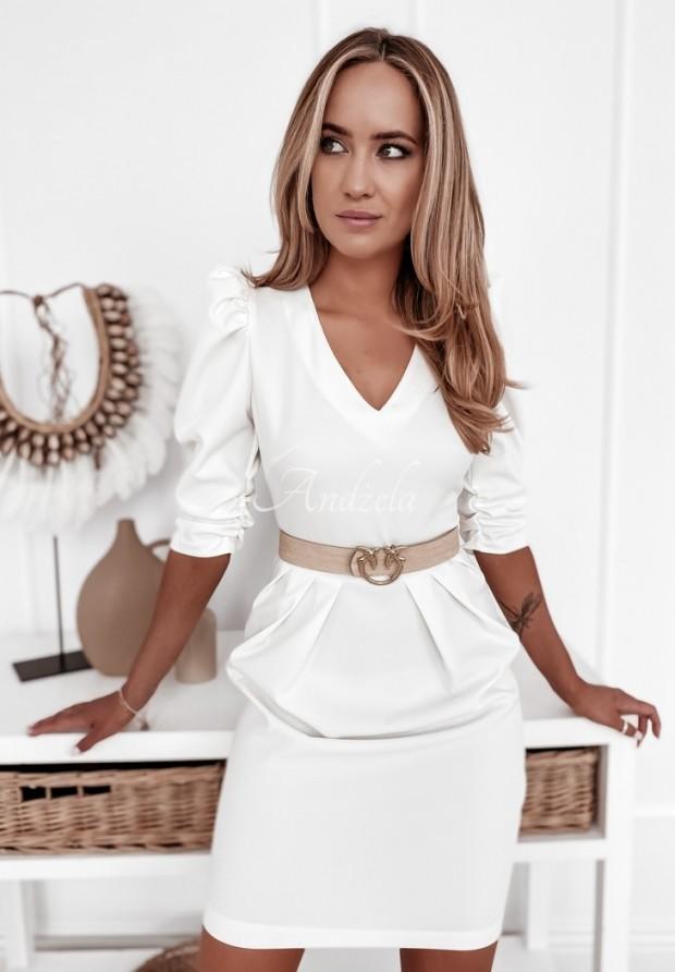 Sukienka Maribela Ecru