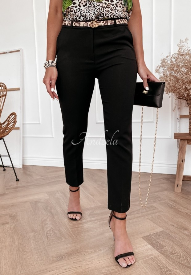 Spodnie Cygaretki Rizalla Black