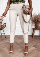 Spodnie Cygaretki Rizalla Nude