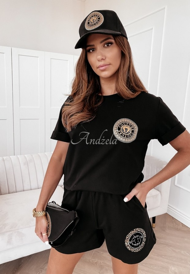 T-shirt Couture Black