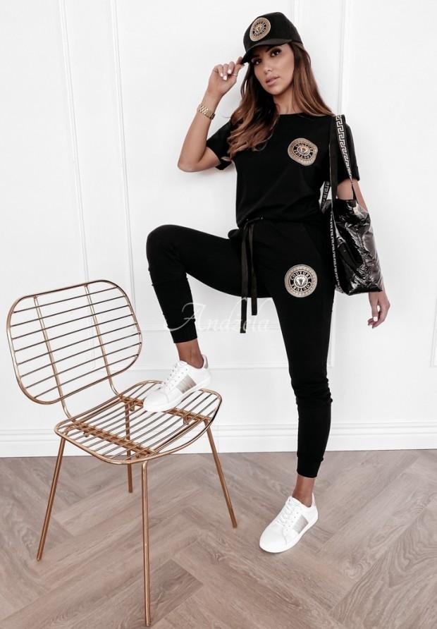 Spodnie Dresowe Couture Black