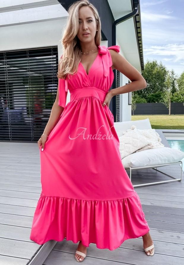 Sukienka Narina Neon Pink