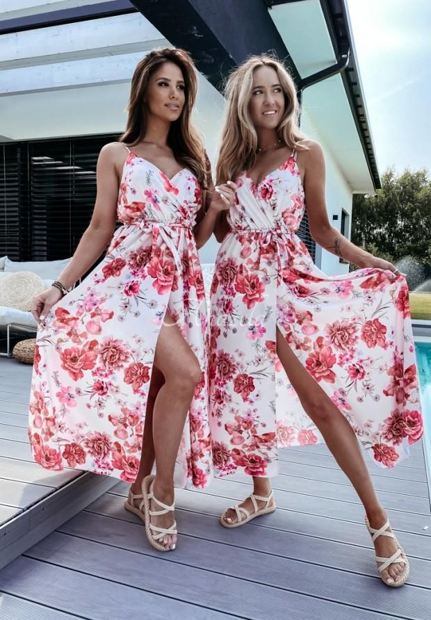 Sukienka Blooms Light Powder