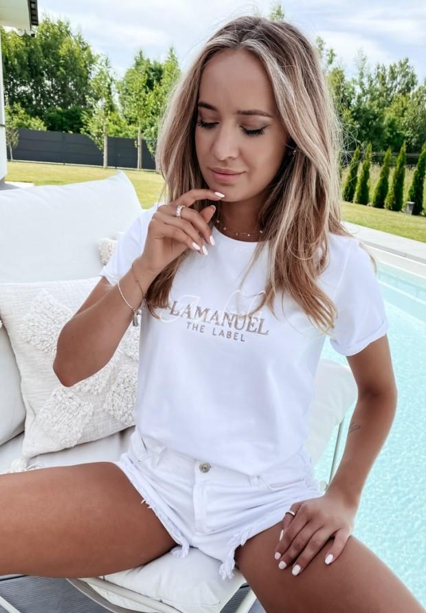 T-shirt La Manuel Bacardi White