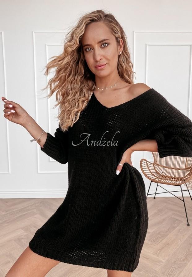 Sweter Sukienka Vilena Black