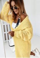 Sweter Kardigan Bueno Yellow
