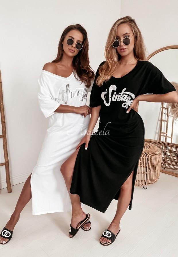 Sukienka Vintage White
