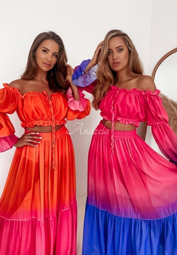 Komplet Coachella Pink&Orange