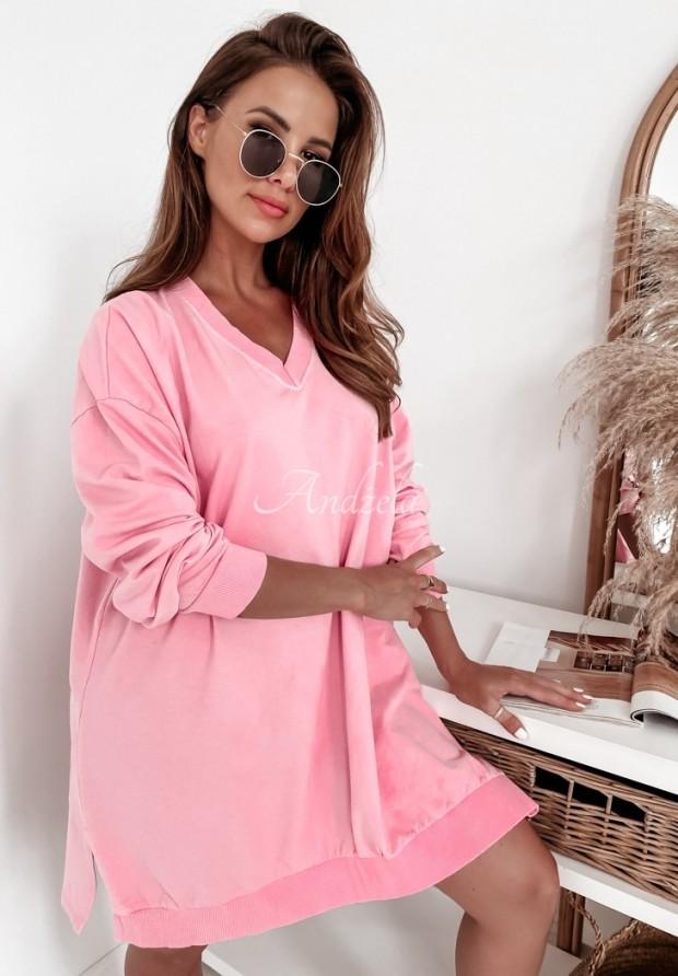 Bluza Oversize Libby Pink
